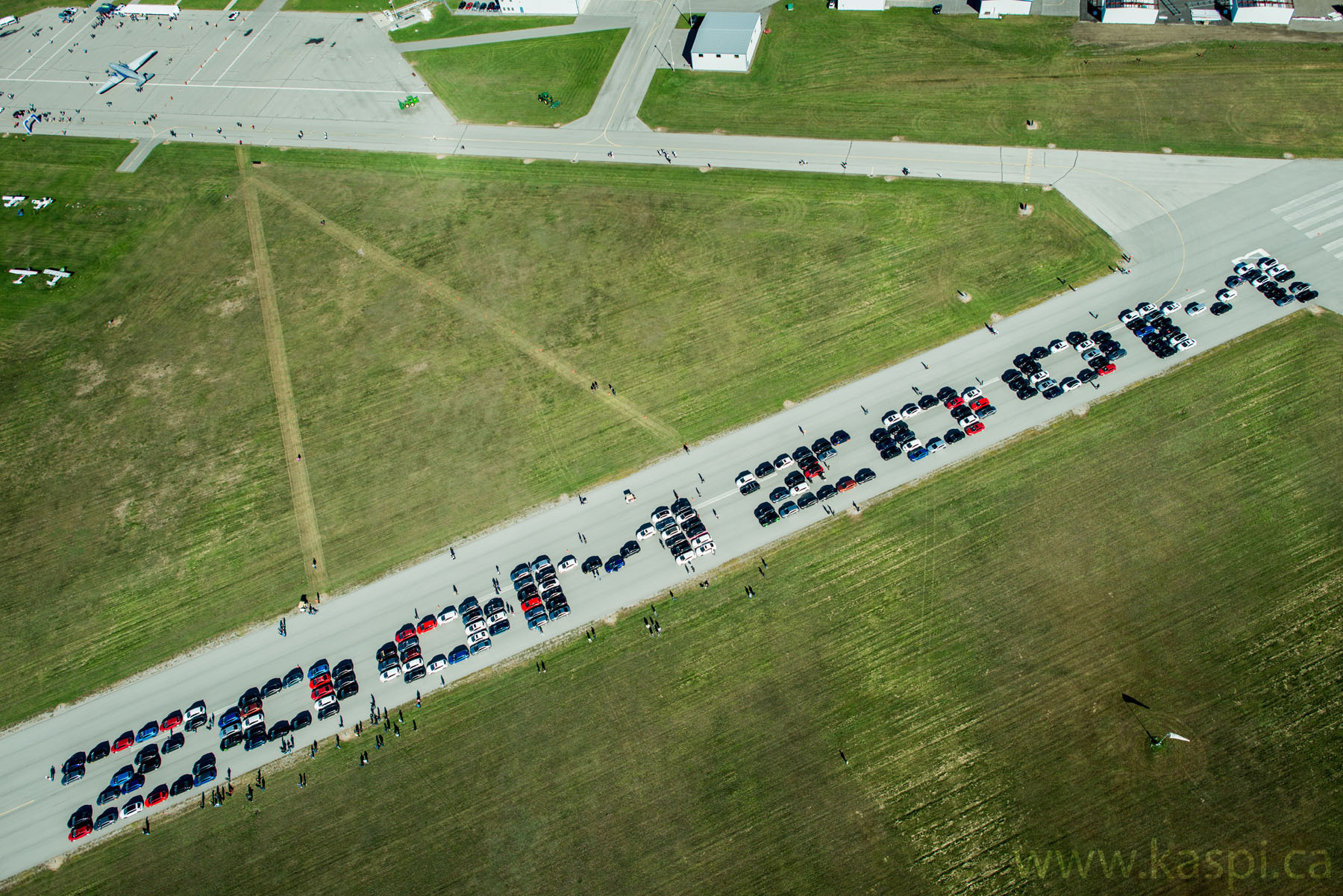 300 Mazda 3s To Meet On Airport Strip For Epic Pic For
